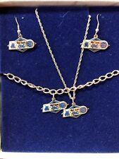 Orlando Magic Vintage Team Gift Set Necklace Earrings Bracelet