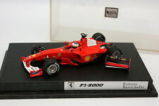 Hot Wheels 1/43 - F1 Ferrari F1 2000 Barrichello