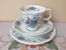 Royal Albert Hamlyn  Tea Trio Cup Saucer Side Plate Unused Mint