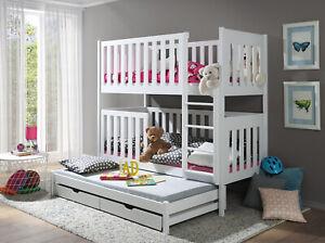 Kinderbett Doppelbett Jugendbett Etagenbett EMILLY NEU Lieferzeit ca 1-3 Wochen