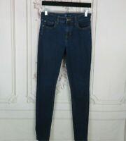 Gap Legging Jeans Womens Size 4 Skinny High Rise Stretchable Dark Wash Denim