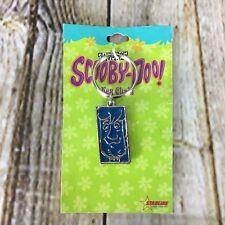 Scooby-Doo Shaggy Blue Portrait Photo Metal Keychain Cartoon Network Starline