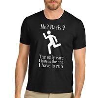 Men's Funny Racist Race Joke T-Shirt
