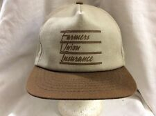 trucker hat baseball cap FARMERS UNION INSURANCE retro vintage rare rave cool