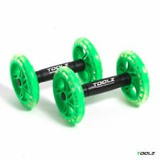 TOOLZ Dual Exercise Wheel – Bauchtrainer AB Roller - 2stk