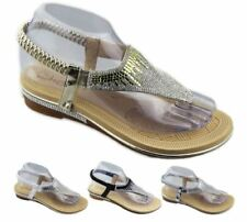Open Toe Casual Synthetic Flats for Women