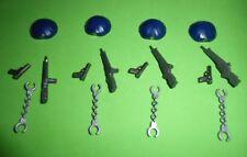 PLAYMOBIL GORROS POLICIA, ARMAS, CASQUETTES, ARMES, ACCESSOIRES DE POLICE
