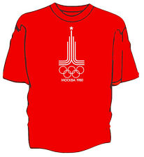 Moscow 1980 unofficial Olympic Games retro t-shirt