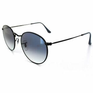 RayBan Round Sunglasses - Black Blue Gradient - 3447 002/3F 50-21