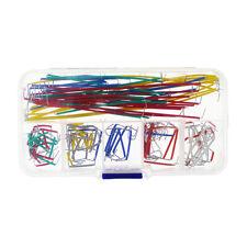 140pcskit U Shape Breadboard Jumper Colored Cable Wire Solderless Box Shield
