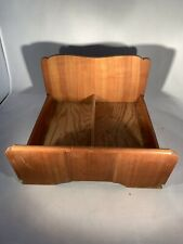 Antique Oak Toy Doll Bed Solid Wood