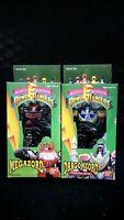 Vintage 1990s Mighty Morphin Power Rangers Powerzord Dragonzord Megazord Set