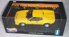 DeTOMASO PANTERA YELLOW BY HOT WHEELS 1:18 NEW IN BOX OLD RELEASE NEW IN BOX