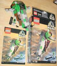 LEGO 7144 STAR WARS SLAVE I  1 COMPLETE - OPENED BOX - WITH INSTRUCTIONS