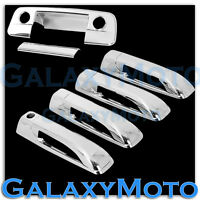 Chrome 4 Door Handle+Tailgate w/KH+Camera Hole Cover for 09-18 Dodge Ram 1500+25