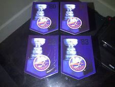 NEW YORK ISLANDERS Team Set Molson Coors Budweiser Panini Stanley Cup Banners