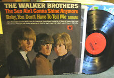 Scott Walker Brothers Sun Ain't Gonna Shine Anymore LP '66 PROMO Smash US Mono !