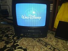 "Emerson 13"" Color CRT TV/VCR Combo Television VCR VHS Player"