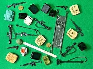 GI Joe Mutt V1 V2 FACE MASK belt weapon accessory part Marauders vtg 1984 1989