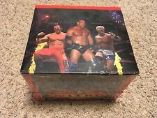 WCW Nitro Starter Box of 12 Trading Card Game Starter Deck Box New In Shrink TCG