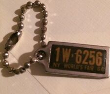 Disabled Veterans 1964 Ny World's Fair Keychain License