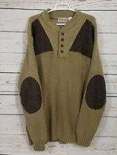 Boulder Creek Trading Company Hunting Sweater ~ Brown ~ Crewneck ~ Men's Big 2XL