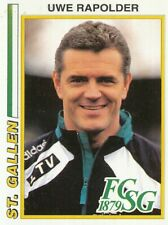 177 UWE RAPOLDER # GERMANY COACH FC.ST.GALLEN STICKER PANINI FOOTBALL 95