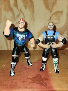 WWE WWF ECW TNA Wrestling Jakks Figure Bleu Chaise
