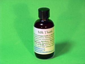 Milk Thistle LHE Fatty Liver Blood Cleanser Hair Tonic Detox 2oz $12.00