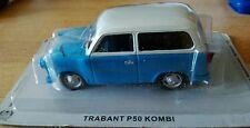 DIE CAST TRABANT P50 KOMBI SCALA 1:43 LEGENDARY CARS DE AGOSTINI AUTO MODEL CARS