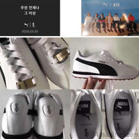 PUMA X BTS TURIN Shoes + Photo Card, BANGTAN BOYS KPOP Zusammenarbeit Schuhe