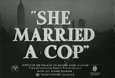 SHE MARRIED A COP (1939) DVD PHIL REGAN, JEAN PARKER
