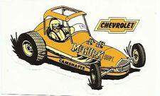 McGurk Camshanfts Chevrolet Sprintcar Retro/ vintage Sticker