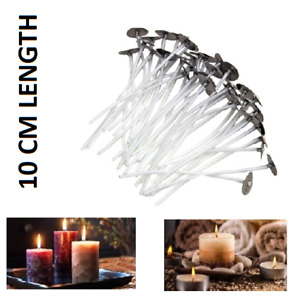 10cm Quality Pre Wicks For Candle With Sustainers Candle Making Wax Variations