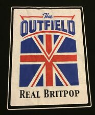 The Outfield Real Britpop 2001 Tour Vintage T Shirt 2XL Graphic Tee 100% Cotton