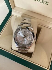 Rolex Datejust 41 2016 Silver Dial