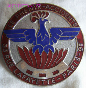 BADGE DE CALANDRE LE PHENIX ACCIDENTS - PARIS