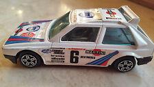 LANCIA Delta MARTINI S4 Burago modellismo Rally Montecarlo Martini N. 6 - 1985.