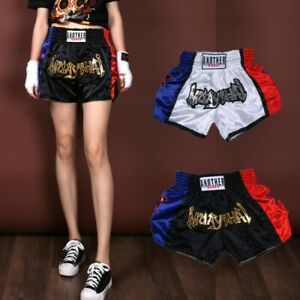 Breathable Boxing Shorts Fighting Fitness Kickboxing MMA Unisex XS-3XL