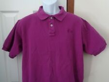 The North Face Polo Shirt Womens Womans Size M Purple Cotton Indonesia