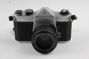 Asahi Pentax SP1000 SLR FILM CAMERA w/ SMC Takumar 55mm Lens, Mechanically Works