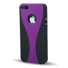 Hülle f Apple iPhone SE / 5S / 5 Hardcase Hülle Tasche Case Cover lila violett