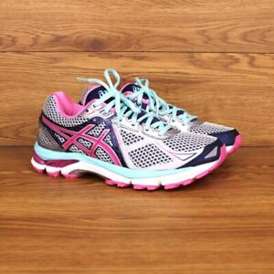 Asics GT-2000 3 Pink Athletic Road Running Sneakers Women's Size 6 Shoes T550N