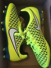 NIB Nike Wmns Magistrate Orden FG Soccer Cleats Volt/Blue Sz: 7 (658571 700)