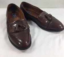 Men's Bostonian Classics Dress Shoes Sz 13 dark Brown Leather loafers