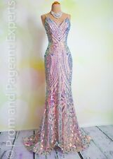 "Sequin PROM 2020 EVENING PAGEANT FORMAL BALL GALA DRESS WEDDING GOWN 6 ""Siren"""