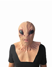 Bizarre Horrific Scary Alien Adult Latex Mask for Halloween Cosplay Costume Prop