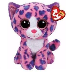 Ty Beanie Boos 36402 Reagan the Pink Cat Boo Medium