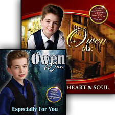 Heart & Soul CD By Owen Mac + Owen Mac Especially For You CD Double Pack New2017