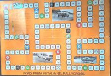 FORD IL GIOCO DEL RALLY CROSS - Ford prima in italia: Capri,Taunus,Transit,20MXL